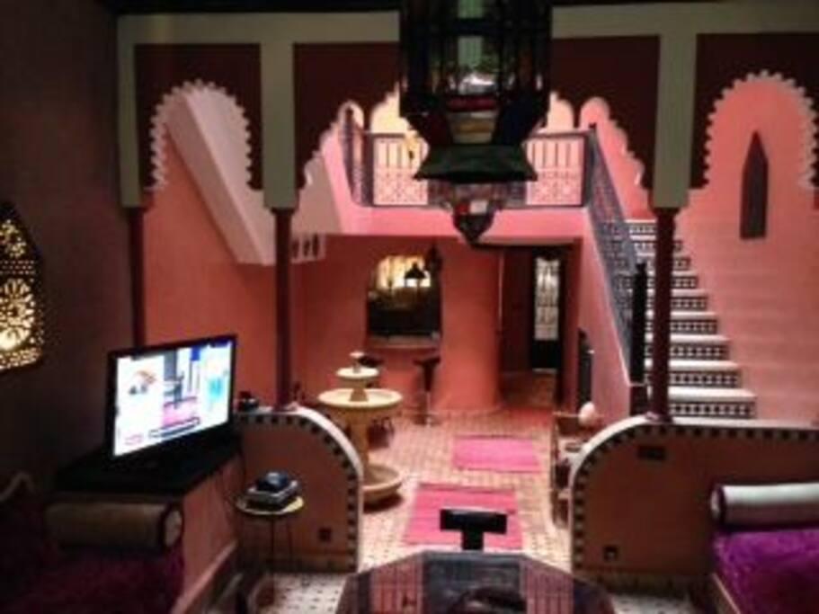 Grand salon marocain