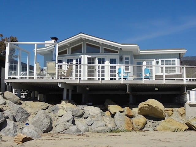 FLASH SALE Padaro Sands Alluring Oceanfront 2 BR Home/Jacuzzi