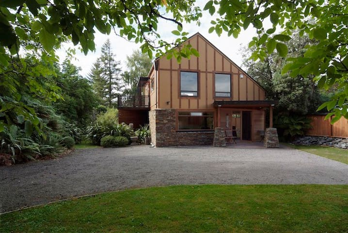 Riverside Lodge on the Tongariro - Turangi - Casa