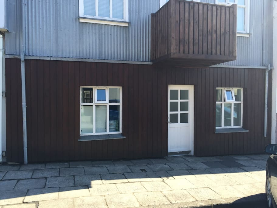 Front of house and Entrance