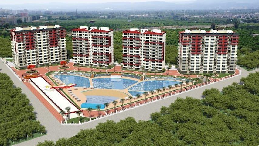 tangerine area - Mersin - Apartment