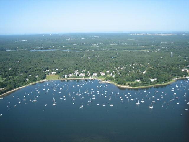 Cotuit Waterfront Retreat, 100' Beach