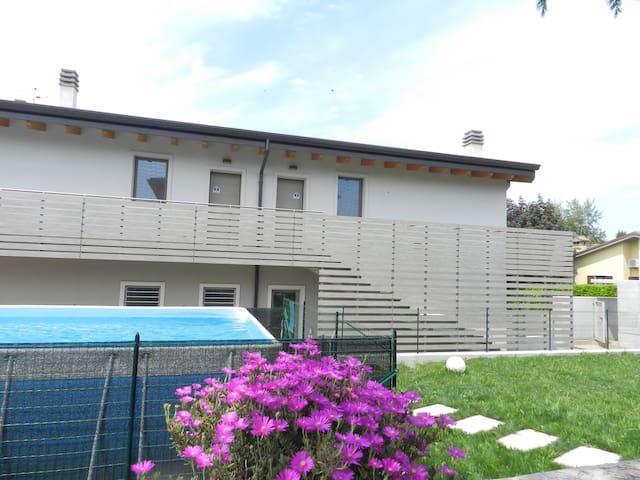 ATTICO MINA 2 - wi-fi, airco, swimming pool