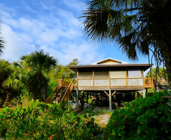 Serenity Cottage, Private Tropical Island Paradise - Placida - Talo
