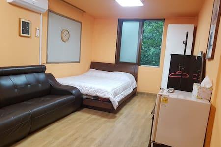 오색약수온천지구 약수온천모텔 침대형객실