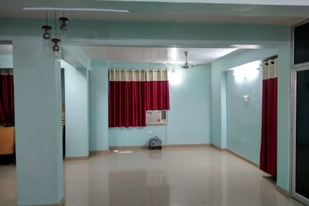 Entire hall(AC) with attached washroom