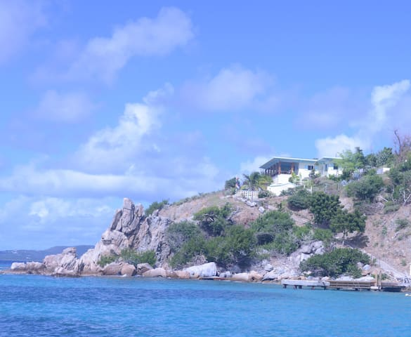 Oceanfront, Quart-A-Nancy Point, Cooper Island BVI