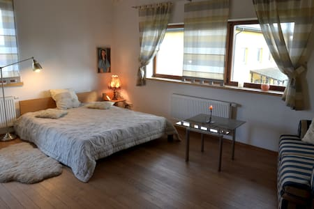 Charming room on city outskirts - Vilnius