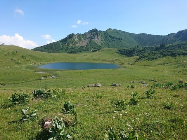Lac de Roy (30 minutes à pied)