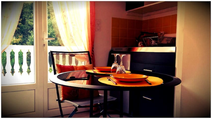 Charming and bright new flat - Saintes - Daire
