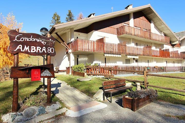 Ambra Apartment: ampio appartamento su 2 livelli - Pragelato-Ruà - บ้าน