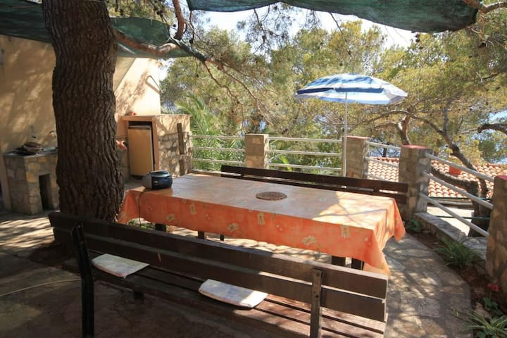 Two bedroom house near beach Lavdara (Dugi otok) (K-8155)