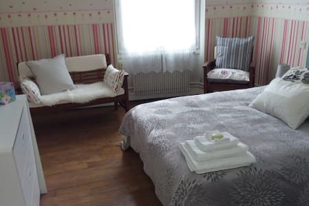 Confortable bedroom - 10 min walk to DT ! - Orléans