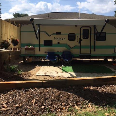 Clean, Comfy Camper--Unique and Close to BMW & GSP