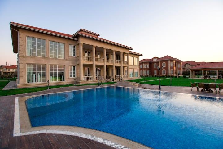 Luxury 7BR Villa with Private Beach,SeaBreeze Baku