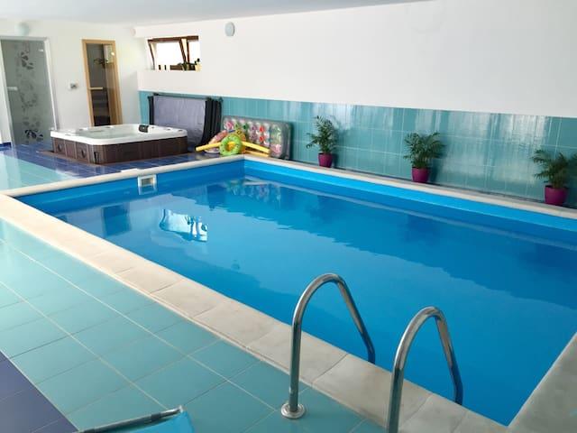 4 soukromé pokoje s wellness u Brna - Židlochovice - House