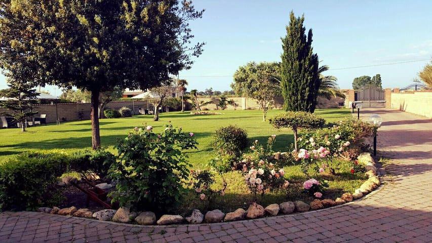 camera in villa 20 min  s. pietro - Ladispoli - Dom