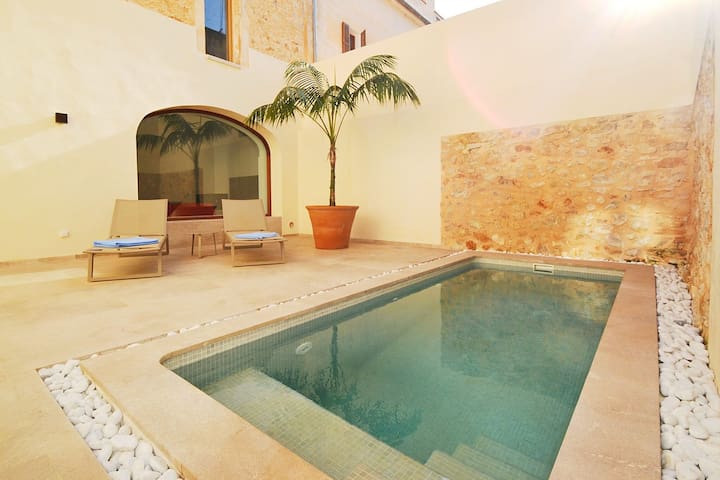 Opulent Mansion in Petra with Pool & State of the Art Fixtures