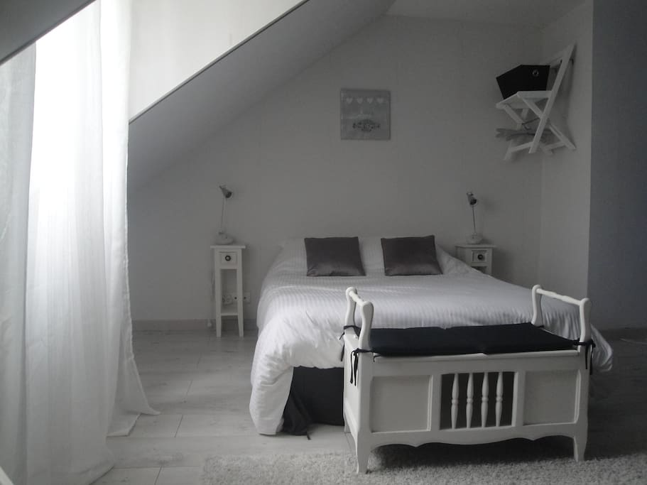Chambre spacieuse Laura lit double