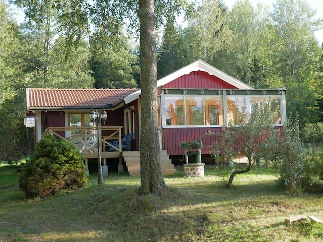 Newly renovated house close the lake Hunn
