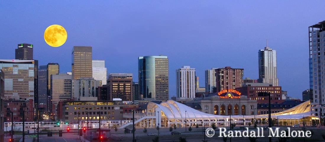 Near Downtown Denver & Train Station