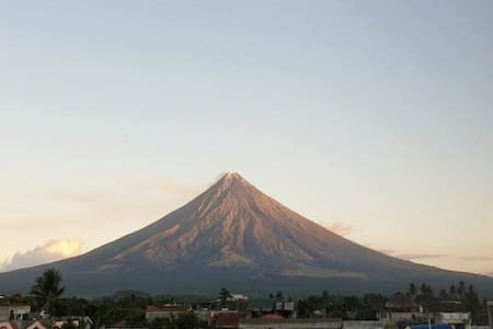 Affordable place in Albay with full view of Mayon