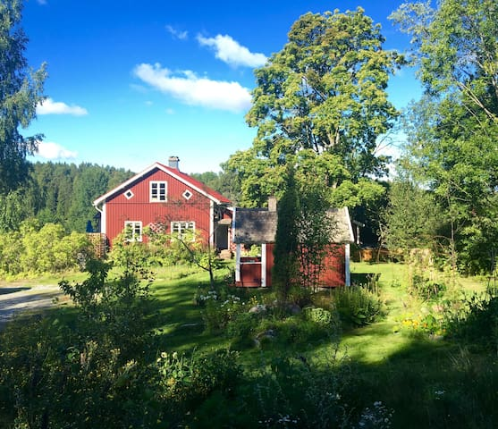 Country house in idyllic surroundings - Norra Fjäll - บ้าน