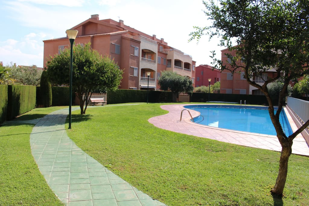Marina Sant Jordi Apartamento Con Piscina Appartementen