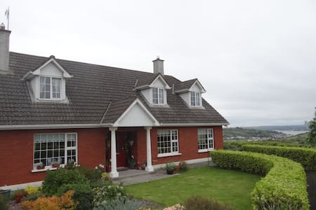 Overlooking upper Cork Harbour, - Cobh - House