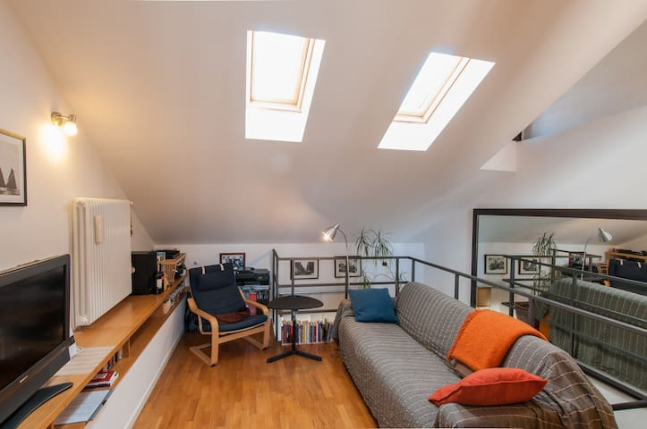 Rooftop Loft w/sunny terrace Turro - Mailand - Wohnung