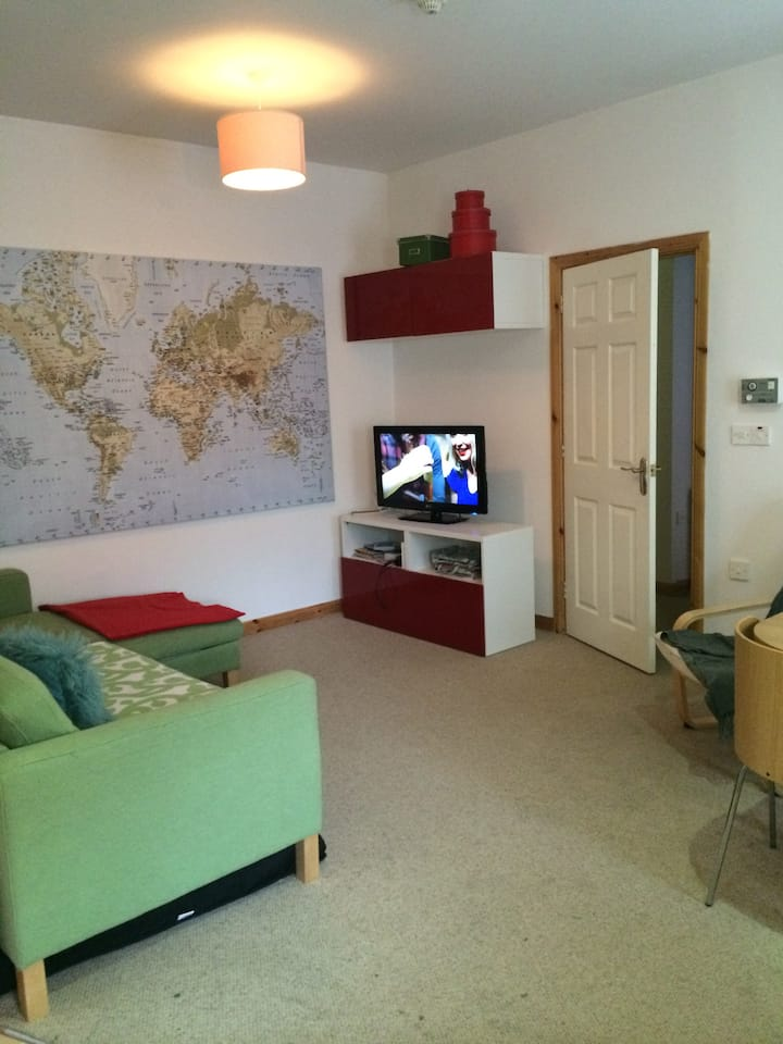 A neat little coast apartment 2 bd in Portrush