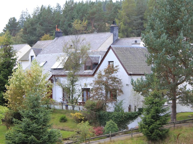 Highland Studio Flat in Tomatin