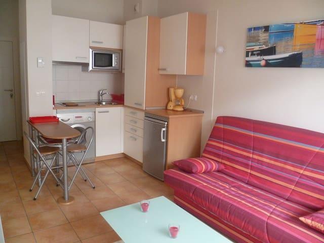 Studio izar neuf hendaye plage apartments for rent in for Studio neuf