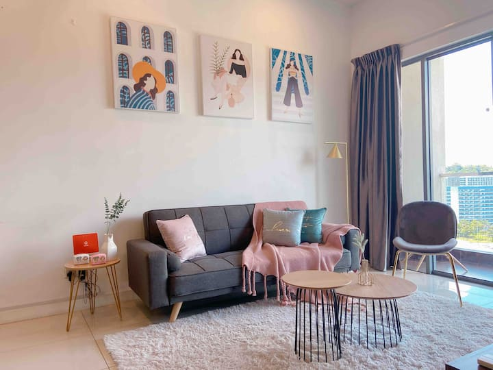 【Vyonne Homestay】2BR IMAGO THE LOFT KK 🌟 CITY AREA