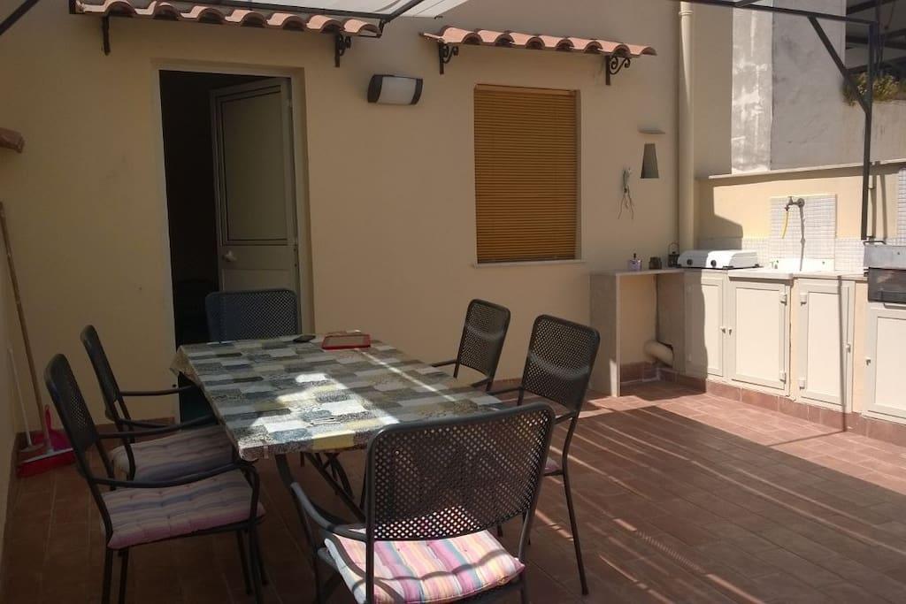 tavolo esterno terrazza principale