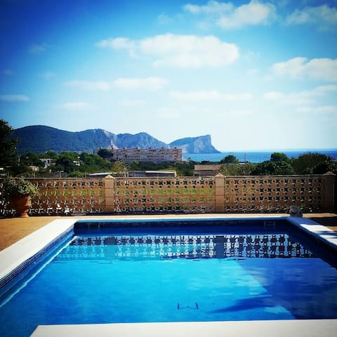 A room to dream @ pool with seaview - Ibiza