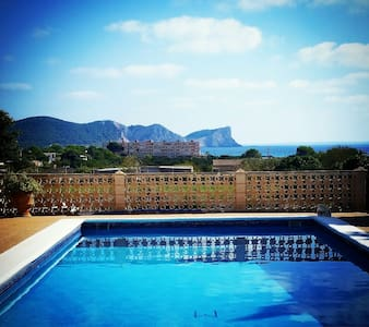 A room to dream @ pool with seaview - Ibiza - Casa