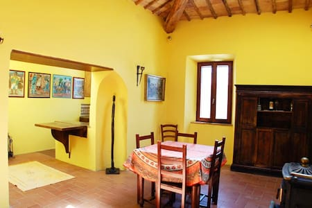 Charming 1 bed apt. on village sq. - Sant'Angelo in Colle