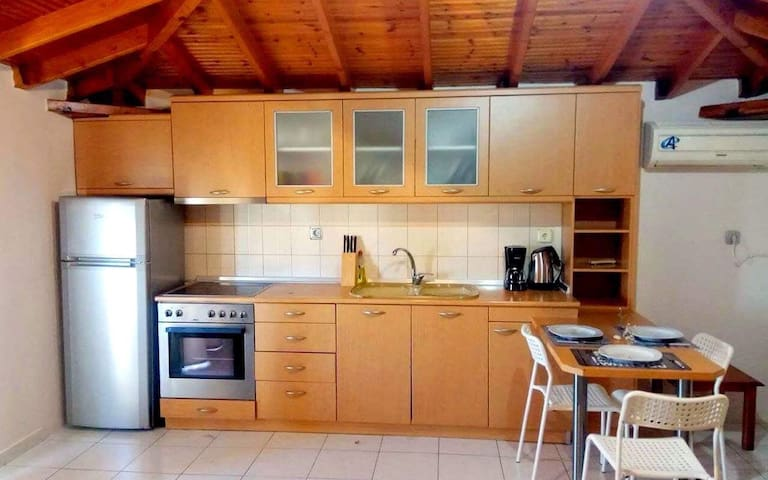 Cheap holidays in Halkidiki in a beautiful loft