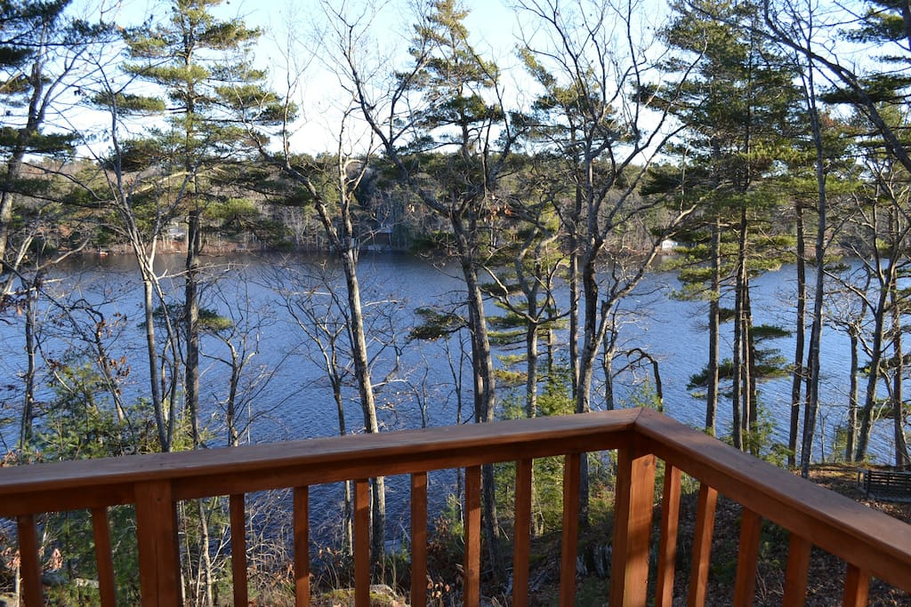 Southerly Views off the deck onto the tranquil Lakefront