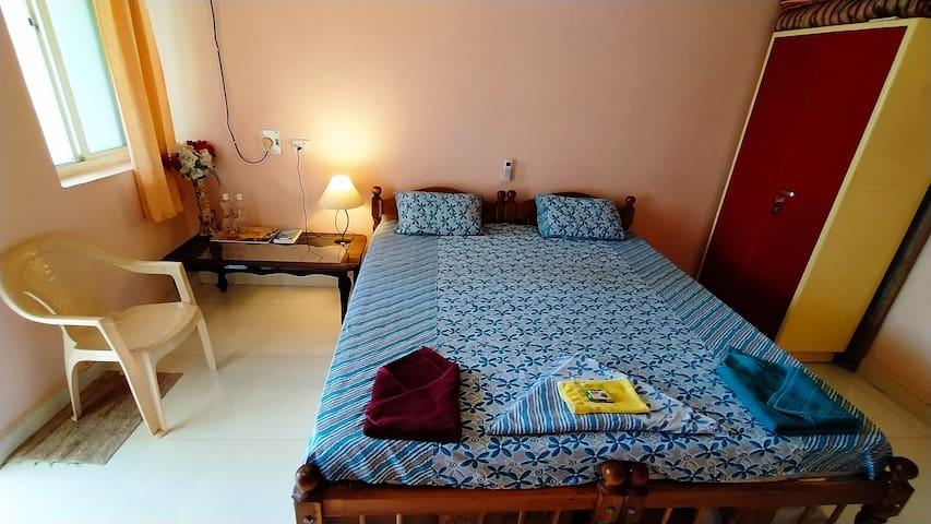 Spacious AC Home at Colva Beach