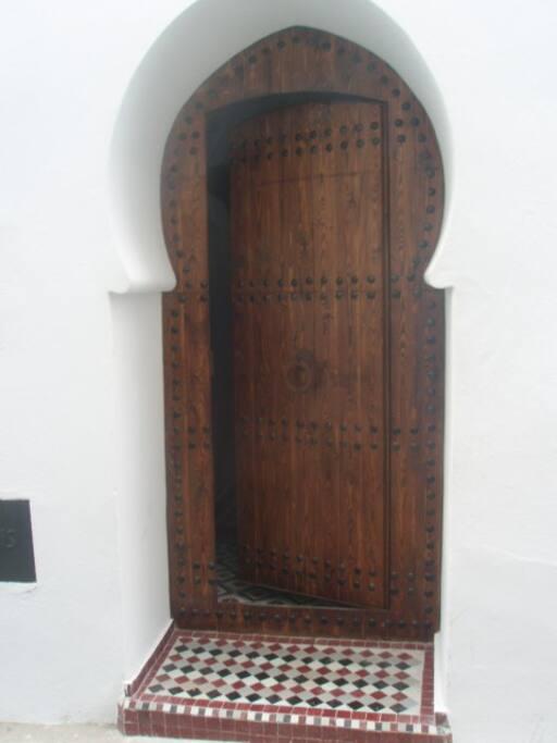Puerta de entrada.