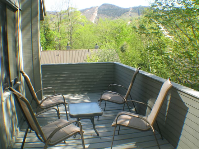 Deck area seating.