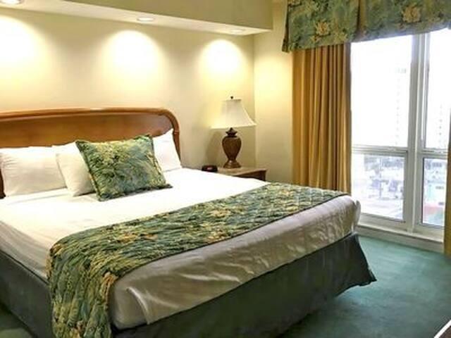 2 seperate bedrooms