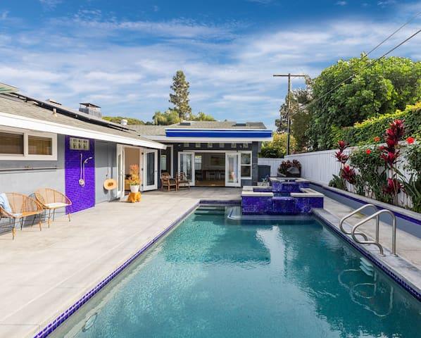 Modern House w/ Pool Close to Disneyland and Beach