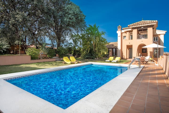 Andalusian villa for up to 11 people with pool - Alhaurín de la Torre - Casa
