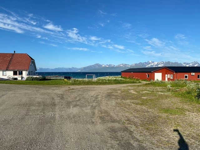 Bo i hjertet av Vesterålen og Lofoten, eget bygg