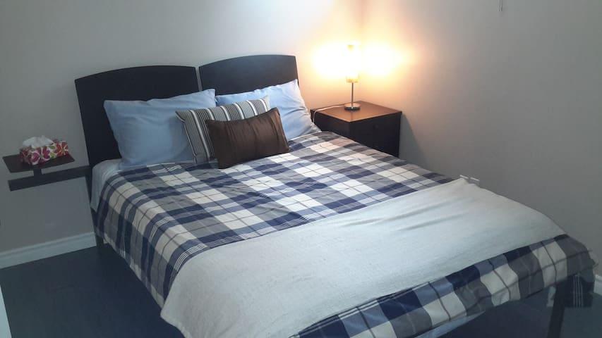 20 min from Ottawa * Queen + twin bed + Breakfast