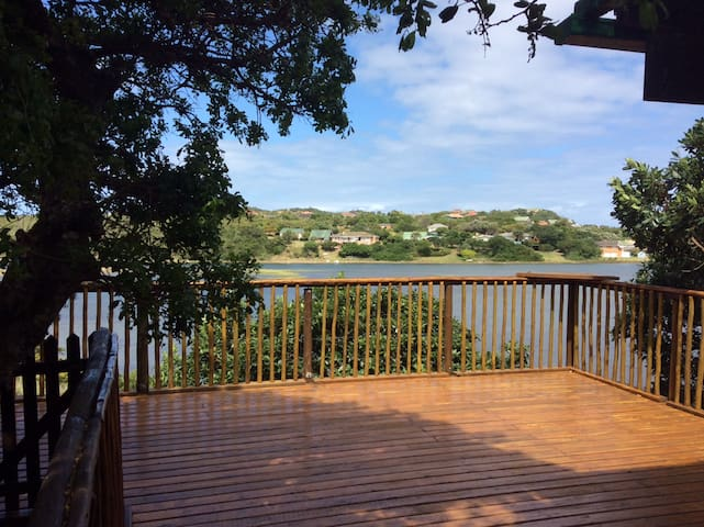 Stunning views overlooking the River & Kleinemonde