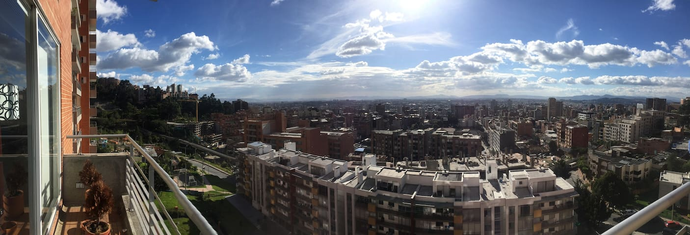 Hey you!Live in the clouds!The best view of Bogota - 波哥大(Bogotá) - 公寓